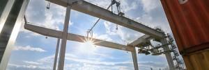 Einweihung der neuen KV-Anlage im Dortmunder Hafen. Impressionen