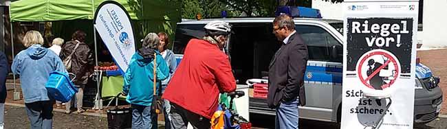 Vorsicht vor Einbrechern: Mobile Wache informiert am Donnerstag mit der Mobilen Wache in der Nordstadt