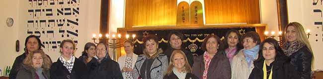 Nachbarn mit ihren Religionen und Kulturen kennenlernen: Besuch der Jüdischen Kultusgemeinde in Dortmund