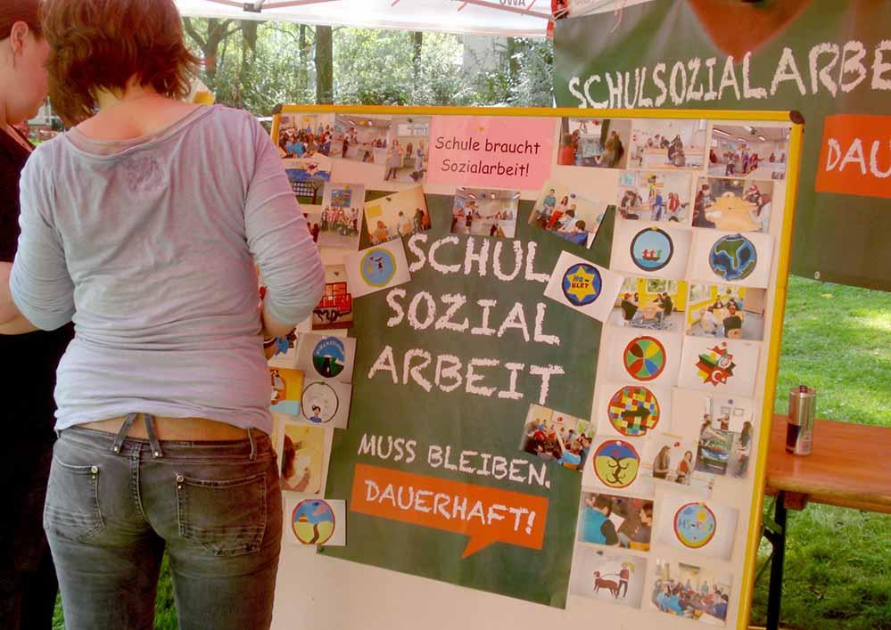 Viele Eltern und Politiker hatten sich für den Erhalt der Sozialarbeit eingesetzt. Foto: privat