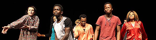 Sugar Snap Paradise: Transnationales Ensemble Labsa präsentiert Musiktheater im Theater im Depot