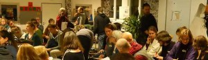 In der Dortmunder Nordstadt trafen sich 75 Menschen, um das dritte Wirtschaftsjahr der Solidarischen Landwirtschaft zu planen.