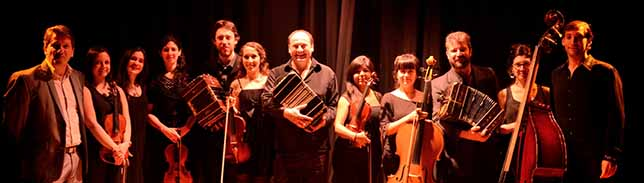 Das Orquesta Tipica Carlos Quilici tritt im Dietrich-Keuning-Haus auf. Foto: Veranstalter