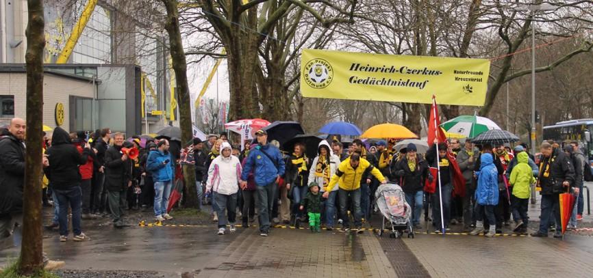 Rund 500 Menschen nahmen am 12. Heinrich-Czerkus-Lauf teil.