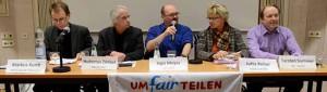 Der DGB und das Bündnis Umfairteilen Dortmund hatten zur Podiumsdiskussion eingeladen.