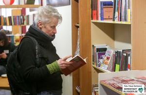 Eröffnung des Libertären Buchladen Black Pigeon, Cornelia Wimmer, BV Innenstadt-Nord, Die Linke