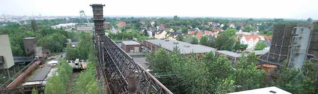 Weite Aussicht und tiefe Einblicke – bei Führungen das Industriedenkmal Kokerei Hansa in Huckarde entdecken