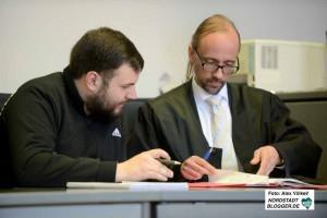 BV-Vertreter Daniel Grebe mit seinem Verteidiger.