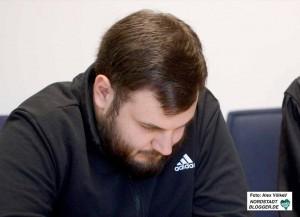 BV-Vertreter Daniel Grebe wurde vom Landgericht zu 22 Monaten Haft ohne Bewährung verurteilt.