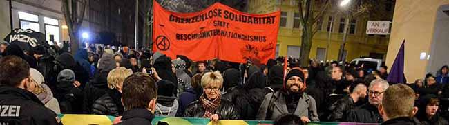 """Großes Besucherinteresse: Der anarchistische Kultur- und Buchladen """"Black Pigeon"""" hat in der Nordstadt eröffnet"""