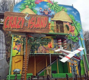 Crazy Island: Abenteuer für die ganze Familie auf fünf Etagen.