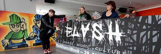 """13 Workshops und Partys zu verschiedenen HipHop-Tanzstilen: Erste """"Flash Dance Week"""" im Dietrich-Keuning-Haus"""