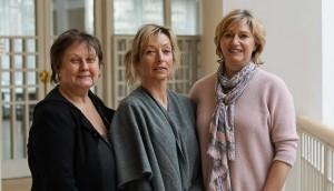 Andrea Hitzke, Silvia Vorhauer und Petra Papirowski von der Mitternachtsmission waren dabei.