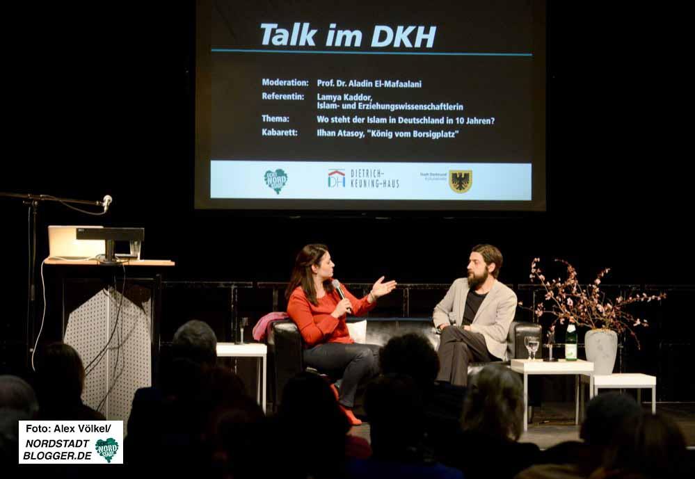 Talk im DKH mit Lamya Kaddor und Aladin El-Mafaalani.
