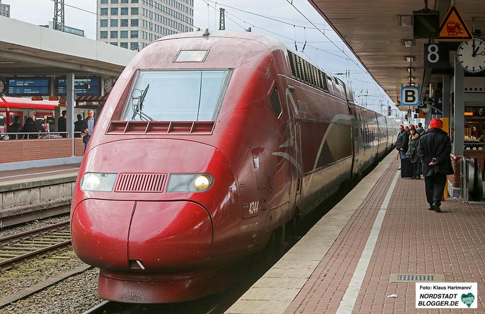 Der Thalys verbindt jetzt offiziell Dortmund mit Brüsssel und Paris