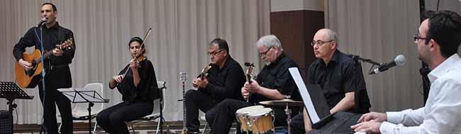 Die Gruppe Nostos sorgte für den musikalischen Rahmen.