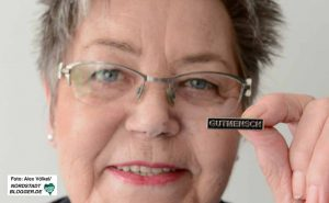 """""""Steuerhinterzieher mit Briefkastenfirmen, dass sind die wahren Asozialen"""", betont Gerda Kieninger."""