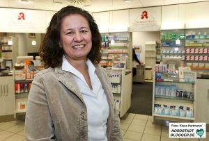 Nicole Ausbüttel, Apothekerin auf der Münsterstraße