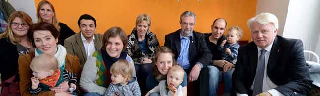 """Großer Bahnhof für """"die kleinen Bachwichtel"""": FABIDO eröffnet die erste Großpflegestelle in der Nordstadt"""