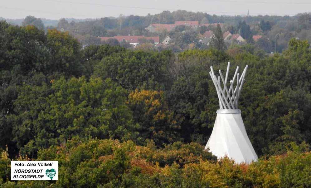 Der Fredenbaumpark ist natürlich ebenfalls im Jahrbuch vertreten.