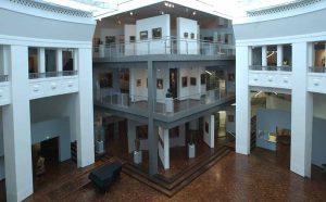 In der Rotunde des Museums werden die Stadtgespräche stattfinden. Archivbild: Völkel