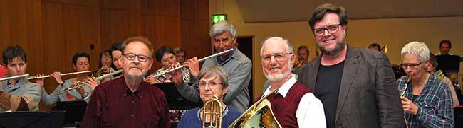 Kein bisschen leise: Mit 80 Jahren spielt Gerd Zimmermann in der Musikschule – und ist nicht der älteste Musikschüler