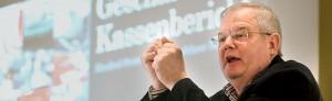 Konferenz der Gewerkschaft Nahrung, Genuß, Gaststätten (NGG) im Brauersaal der DAB mit Verleihung des Vorlesers an Alexander Völkel