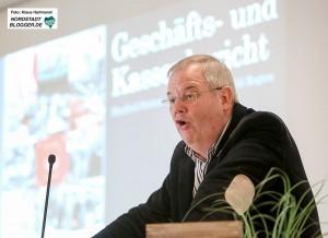 Konferenz der Gewerkschaft Nahrung, Genuß, Gaststätten (NGG) im Brauersaal der DAB mit Verleihung des Vorlesers an Alexander Völkel. Manfred Sträter