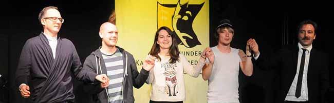 Robert Alan ist 12. Preisträger des Dortmunder Kabarett & Comedy PoKCals – Verleihung im Wichernhaus