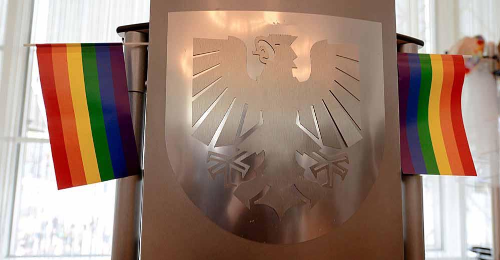 """Der Auftakt der Reihe """"Stadtgespräche - Was im Alter wichtig ist"""" fand im Dortmunder Rathaus statt."""