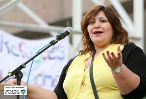 Train of Hope, Veranstaltung: Wir sind die Welt! Fatma Karacakurtoglu, 1. Vorsitzende Train of Hope Dortmund