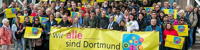 """Für Vielfalt und Toleranz: Die Kampagne """"Wir alle sind Dortmund"""" feiert den ersten Geburtstag"""