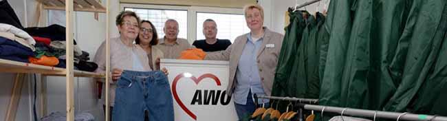 Die AWO in Dortmund richtet eine zentrale Kleiderkammer ein – Das Angebot kommt nicht nur Flüchtlingen zugute