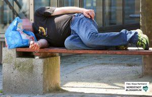 Symbolbild: Armut in Dortmund, Obdachlosigkeit, Wohnugslos