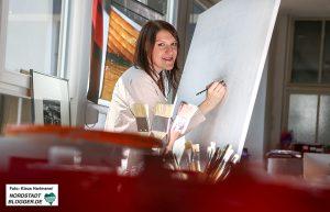 Kunstprojekt: Inseln. Kulturaustausch Rostow am Don und Dortmund im Kunstbetrieb. Natalia Enokiants, Rostow