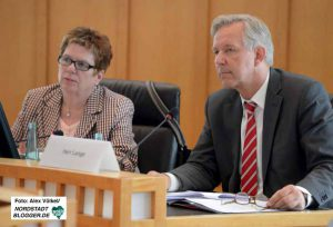 Polizeipräsident Gregor Lange stand im Fachausschuss Rede und Antwort.