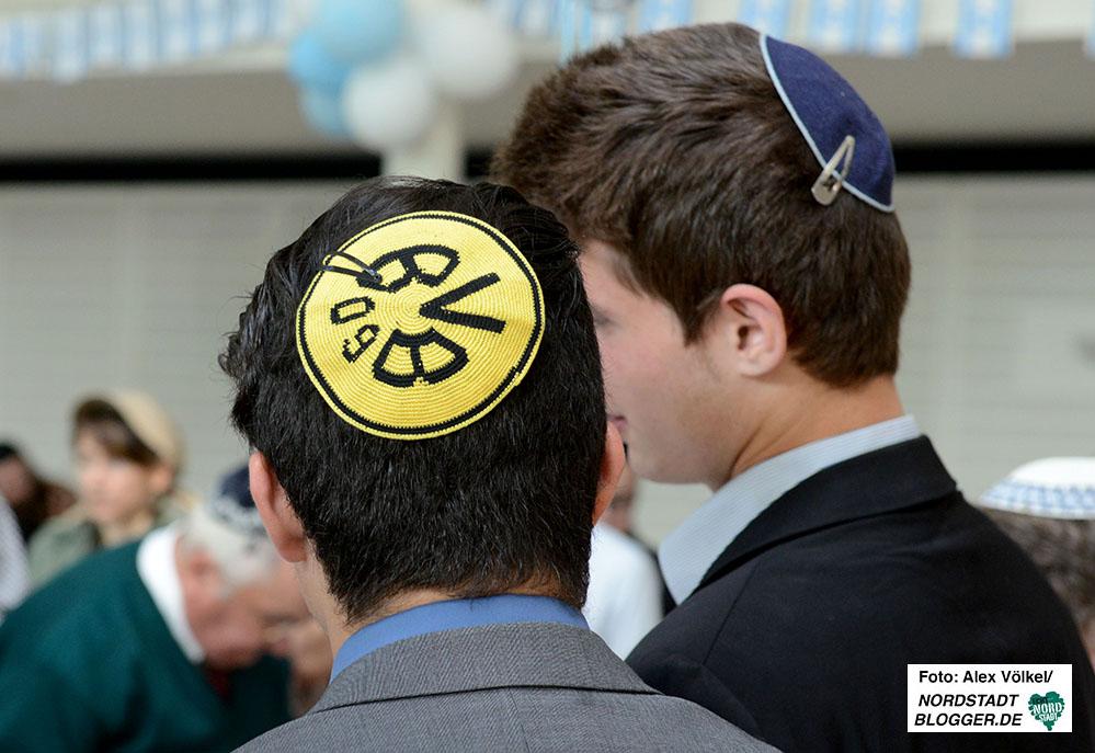 Auch in der jüdischen gemeinde genießt der BVB einen hohen Stellenwert.