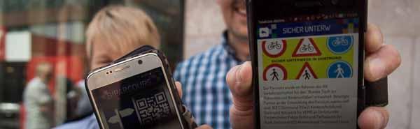 """Handy-App """"Sicher unterwegs in Dortmund"""" entwickelt: Gute Tipps für Kinder und Jugendliche im Straßenverkehr"""