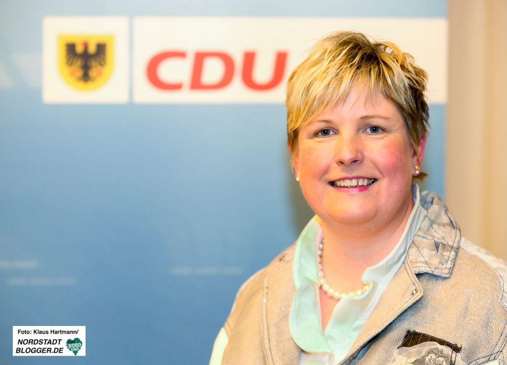 Wahlkreisvertreterversammlungen zur Aufstellung der CDU-Kandidaten für die Landtagswahl 2017 im Helmholtz-Gymnasium. Claudia Middendorf, 114/Dortmund IV