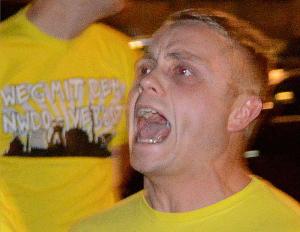 Christoph Drewer hat gegen Flüchtlinge und ihre Unterstützer gehetzt.
