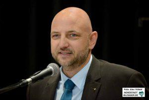 Pascal Ledune, stellvertretender Geschäftsführer der städtischen Wirtschaftsförderung