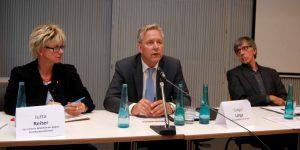 Jutta Reiter, Gregor Lange und Friedrich Stiller. Foto: AKgR
