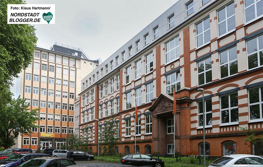 Kooperation Fachhochschule und Helmholtz-Gymnasium. Die FH in der Sonnenstraße