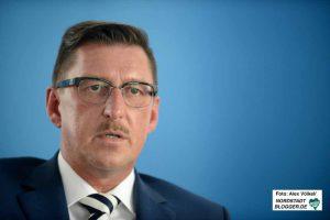Hafenchef Uwe Büscher