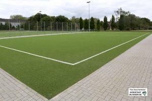 Kapazitätsengpässe im Hoeschpark bei den Sportvereinen. Das Kleinfeld soll für alle Kicker offenstehen
