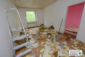 Die neuen Eigentümer haben mit dem Ausräumen und Entkernen begonnen.