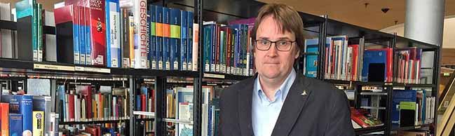 Stadt- und Landesbibliothek Dortmund: Dr. Johannes Borbach-Jaene ist neuer Chef über mehr als eine Million Medien