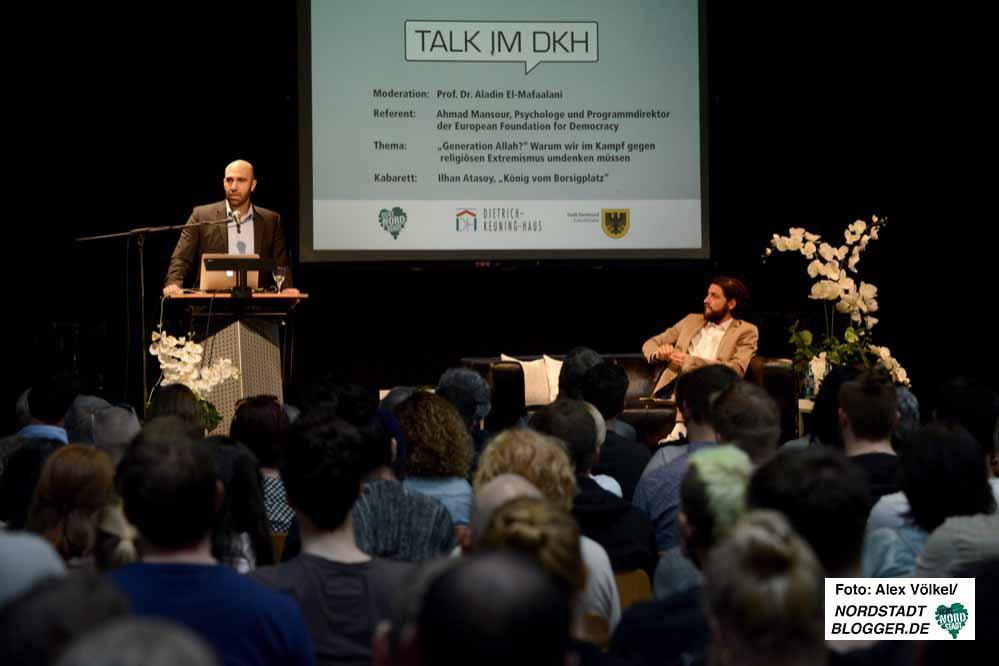 Beim Talk im DKH werden regelmäßig gesellschaftsrelevante Themen mit prominenten Gästen und dem Publikum diskutiert. Foto: Alex Völkel