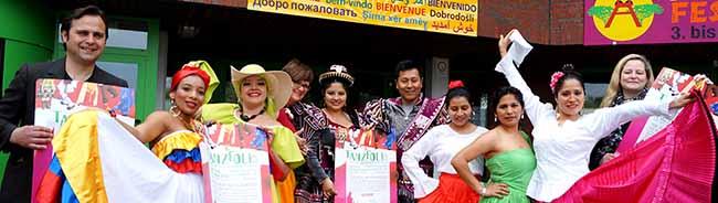 Tanzfolk 2016: Internationales Tanzfestival lädt Besucher zu temperamentvollen Tänzen und kulinarischen Spezialitäten ein