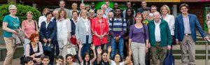 """Die Mitglieder des Dortmunder Spendenparlaments """"spendobel"""" haben sich im keuning-Haus informiert. Foto: Stephan Schuetze/ VKK"""